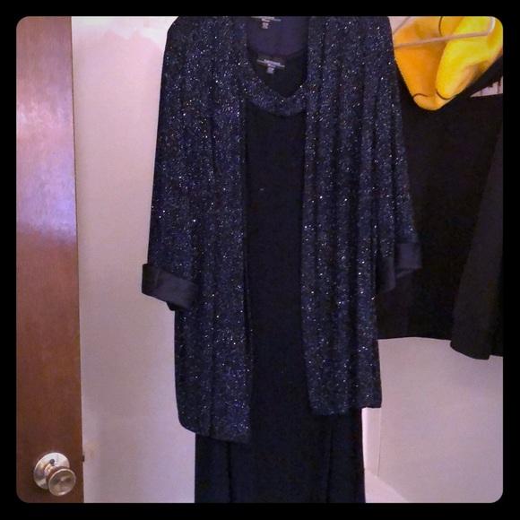 R&M Richards women's plus size dress with jacket